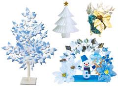 冬の装飾 置き飾り