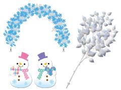 冬の装飾 その他装飾